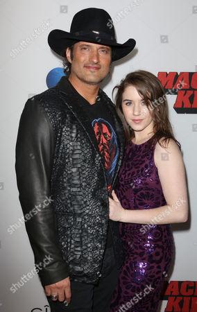 Robert Rodriguez and Marci Madison