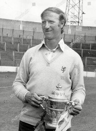 Jack Charlton - Middlesbrough Manager With Division Two Trophy 1974/75