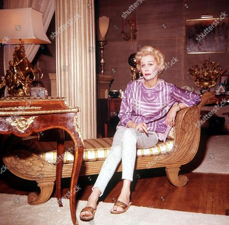 Editorial image of ACTRESS MARGARET LEIGHTON AT HOME