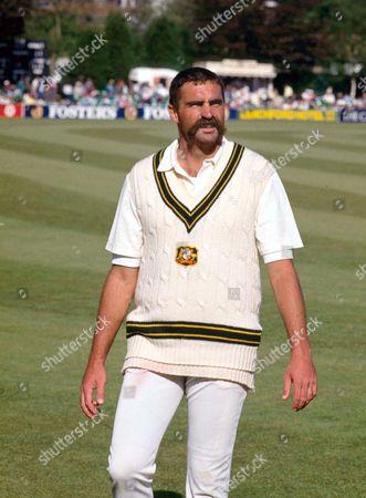 Mervyn Hughes (Aus) England v Australia 13/5/89 Worcs v Australia