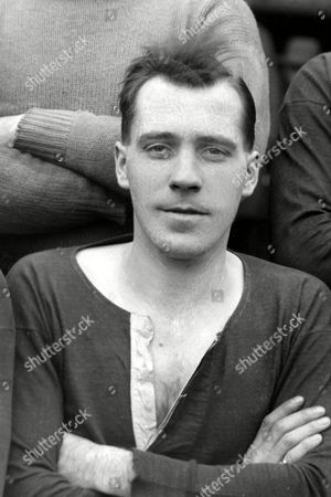Stock Picture of Eric Sweeney (Utd) Manchester United 1929/30 season 2nd X1