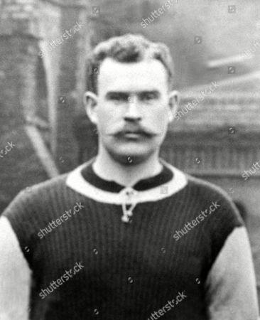William (Billy) George (Aston Villa) Goalkeeper 1904/05 Season Also played 3 England Internationals Billy George (Aston Villa)