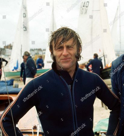 Stock Picture of Rodney Pattisson (Sailing) 1/06/1972 Won Gold medal in the Flying dutchman class at the Munich Olympics 1972 Rodney Pattisson - Sailing