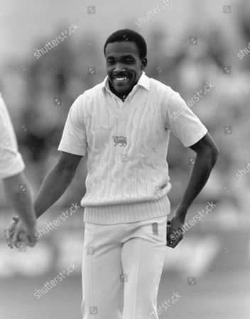 Gladstone Small (England) Cricketer England v West Indies 1988 at Lords 2nd Test: Eng v WI
