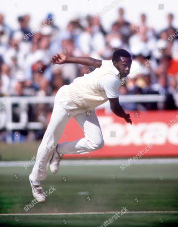 Gladstone Small (England) Cricketer England v New Zealand 23/5/1990 at Headingley England-NZ: 1-D at Headingley