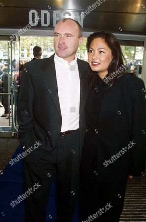 PHIL COLLINS AND WIFE ORIANNE CEVEY
