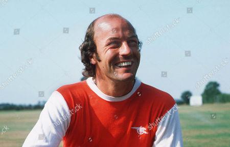 Terry Mancini (Arsenal) Photocall 1975 / 76