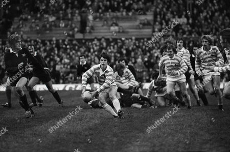 Rugby Union - 1974 Varsity Match - Oxford University 15 Cambridge University 16 Cambridge's Richard Harding at Twickenham 1974 Varsity Match: Oxford 15 Cambridge 16