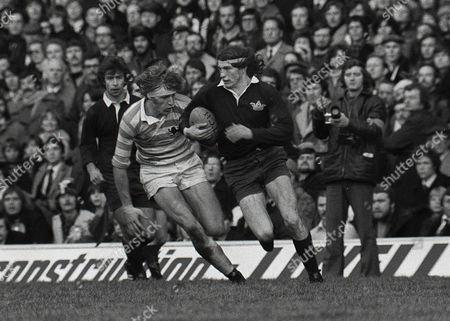 Rugby Union - 1975 Varsity Match - Oxford University 12 Cambridge University 34 Oxford's David Willis at Twickenham 1975 Varsity Match: Oxford 12 Cambridge 34