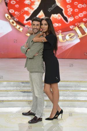 Lea T and Simone Di Pasquale
