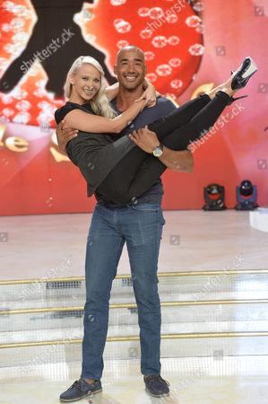 Stock Photo of Veera Kinnunen and Amaurys Perez