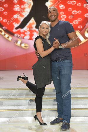 Stock Picture of Veera Kinnunen and Amaurys Perez