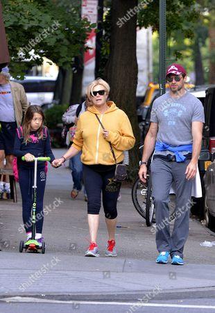 Stock Image of Ava Eliot Jackman, Deborra-Lee Furness and Hugh Jackman