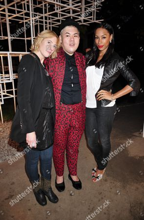 Anna Winslet, Sorapol and Jade Johnson