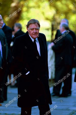 Stock Photo of BERNARD INGHAM AT THE WILLIAM WHITELAW MEMORIAL AT THE GUARDS CHAPEL.