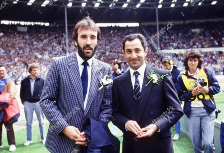 Ricky Villa and Ossie Ardiles (Tottenham Hotspur) Coventry City v Tottenham Hotspur FA Cup Final 1987 Wembley 16/5/87 1987 FA Cup Final: Spurs 2 Coventry 3 (aet)