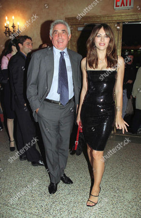 TED FORSTMANN AND LIZ HURLEY