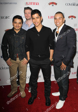 Line of Duty Castmembers - Douglas Spain, David J. Phillips, Jeremy Ray Valdez and Joseph Julian Soria