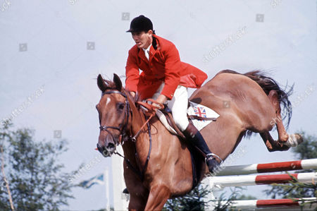 Show Jumping : David Broome Show Jumping Hickstead 1970 Winner of a Bronze medal in the Individual event at the Mexico Olympics 1968 on Mr Softee David Broome