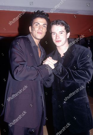 Stock Picture of Peter Andre & Stephen Gately