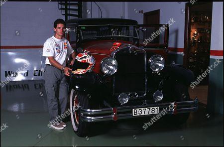 ALEX CRIVILLE WHO HAS WON THE 1999 SEASON WORLD MOTORCYCLE CHAMPIONSHIP AT 500cc.