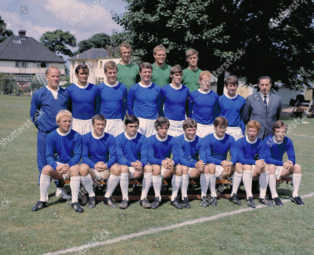 Football - Everton F C 1969 / 1970 - Team Group Photocall Winners of the League Championship title this seasonBack row (left to right): Geoff Barnett Gordon West Andy Rankin Middle row: Wilf Dixon (trainer) John Hurst Joe Royle Brian Labone Roger Kenyon Sandy Brown Howard Kendall Harry Catterick (Manager) Front row: Alan Whittle Johnny Morrissey Gerry Humphreys Jimmy Husband Tommy Jackson Tommy Wright Alan Ball Colin Harvey Everton - 1969/70