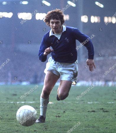 George Telfer (Everton) 22 February 1975Liverpool v EvertonAnfield Liverpool 0 Everton 0