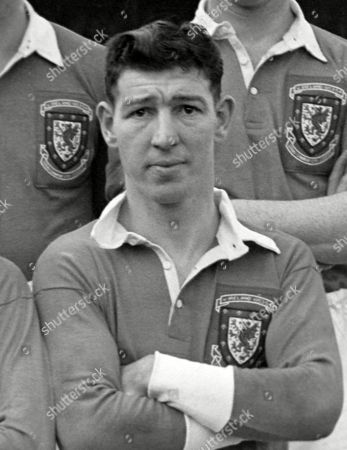 Roy Clarke (Wales) Also Manchester City Wales v Northern Ireland 31/03/1954 Wrexham Roy Clarke (Wales)