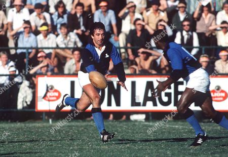 Rugby Union Hugo Porta (Barbarians and Argentina) Lions v South African Barbarians 02/07/1980 British Lions Tour of South Africa SA Barbarians 14 Lions 25