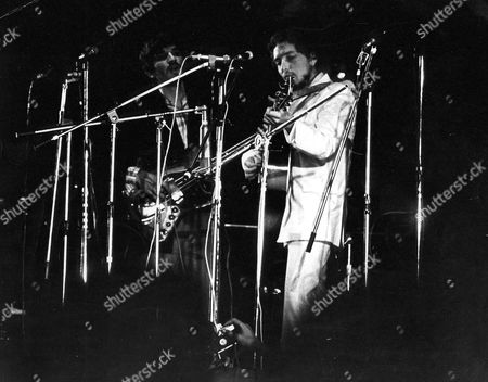 Rick Danko and Bob Dylan