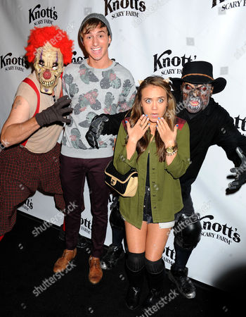 Editorial picture of VIP Opening of Knott's Scary Farm 'Haunt', Buena Park, Los Angeles, America - 03 Oct 2013