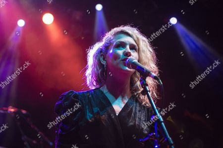 Editorial picture of Laura Mvula in concert at Shepherds Bush Empire, London, Britain - 04 Oct 2013