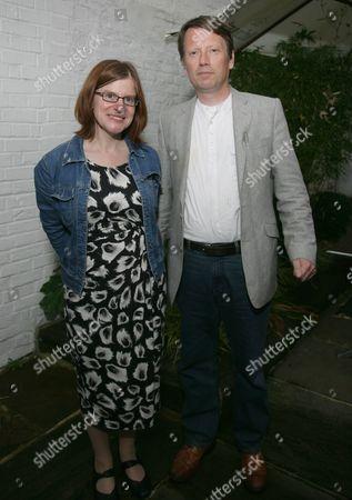 Stock Photo of Rachel Hore & DJ Taylor