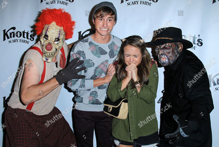 Editorial photo of VIP Opening of Knott's Scary Farm 'Haunt', Buena Park, Los Angeles, America - 03 Oct 2013