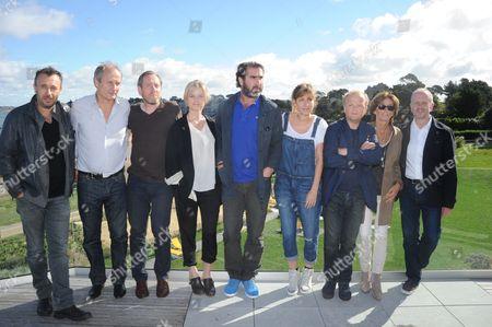 Fred Cavaye, Hippolyte Girardot, Michael Smiley, Alice Eve, President Eric Cantona, Amanda Sthers, Toby Jones, Natalie Carter and David Parfitt
