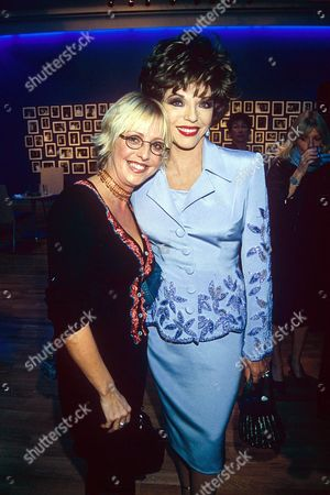 EMMA CHAMBERS WITH JOAN COLLINS