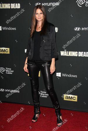 Editorial photo of 'The Walking Dead' Fourth Season Premiere, Los Angeles, America - 03 Oct 2013
