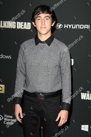 Editorial picture of 'The Walking Dead' Fourth Season Premiere, Los Angeles, America - 03 Oct 2013