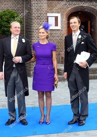 Prince Carlos of Bourbon-Parma, Princess Carolina of Bourbon-Parma, Albert Brenninkmeijer