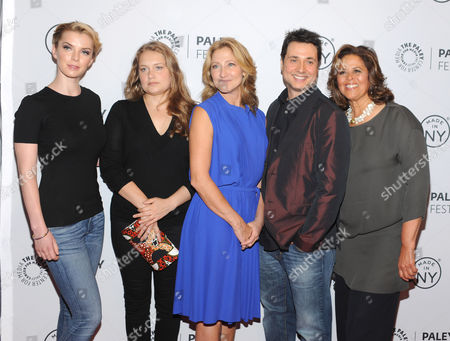 Betty Gilpin and Merritt Wever and Edie Falco and Adam Ferrara and Anna Deavere Smith