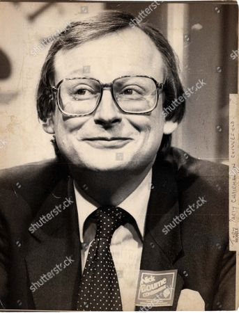 John Selwyn Gummer Baron Deben. Conservative Party Politician Formerly Member Of Parliament (mp) For Suffolk Coastal Now A Member Of The House Of Lords. Pictured In Chesterfield. Pkt4706-351204 Original Print Held In Kensington.
