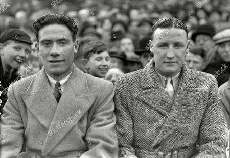 Henry 'Harry' Baird - right (Manchester United) and Matt Doherty (Derry and Northern Ireland) 1952/1953 season Both playing for the Irish league Baird & Doherty (Irish Lge(