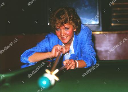 Allison Fisher (Snooker) Ladies Snooker Womens Champion 1989 Credit v: Colorsport Allison Fisher Snooker