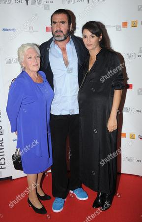 Line Renaud, Eric Cantona and Rachida Brakni