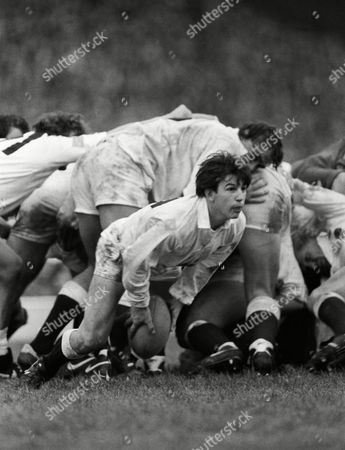 Rugby Union - 1985 Five Nations Championship - England 9 France 9 England's Richard Harding at Twickenham 5N 1985: England 9 France 9