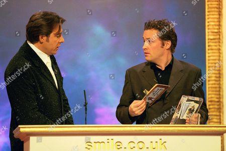 ARDAL O'HANLON AT THE 1999 COMEDY AWARDS AT LONDON WEEKEND TELEVISION STUDIOS