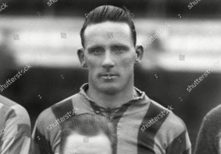 Football - 1927 / 1928 season Merthyr Town's Jack Page Jack Page - Merthyr Town
