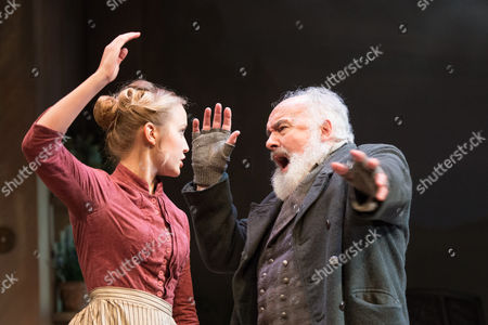 Editorial image of 'Ghosts' play performed at the Rose Theatre, Kingston, London, Britain - 24 Sep 2013