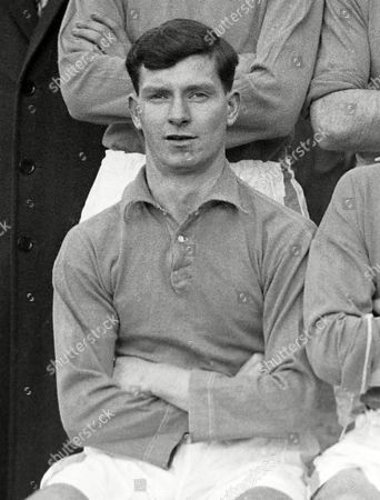 Stock Picture of Football : Peter Joseph Corr - Everton 02/03/1949 Also Preston North End Dundalk and Bangor 4 caps for Republic of Ireland Peter Corr - Everton