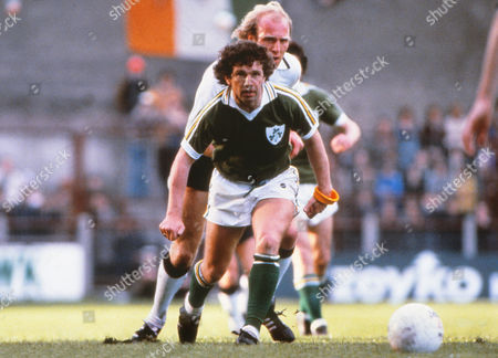 Football - Republic of Ireland v West Germany Johnny Giles - Player / Manager of Rep of Ireland Rep of Ireland 1 W Germany 3